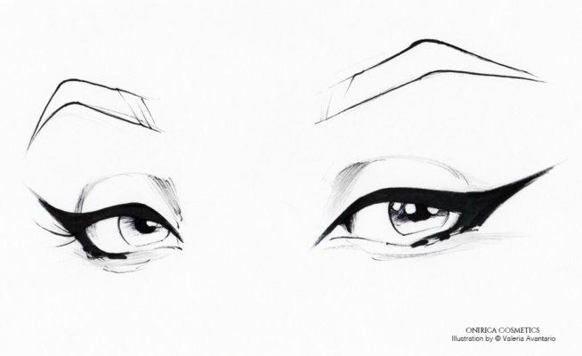 eyeliner onirica cosmetics how to tutorial