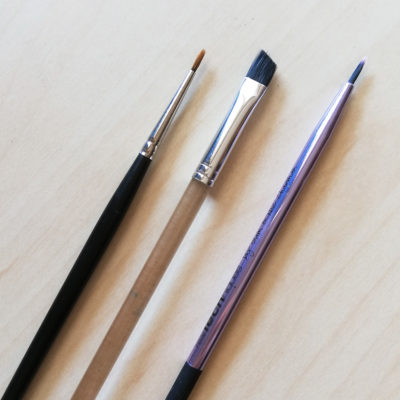 pennelli trucco eyeliner makeup tools brushes