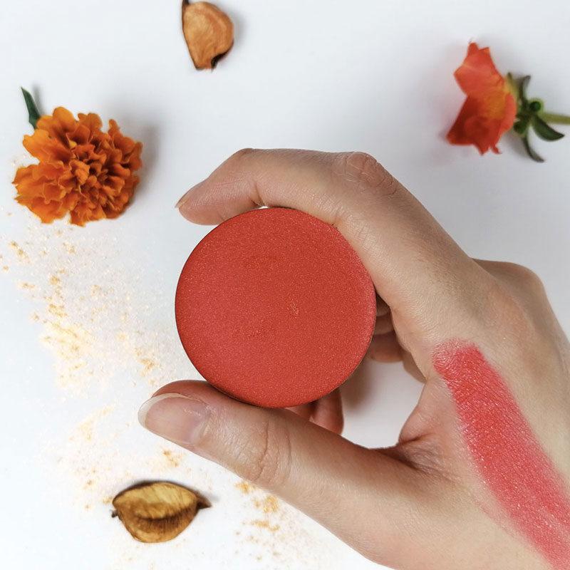 orange juice & glitters onirica cosmetics